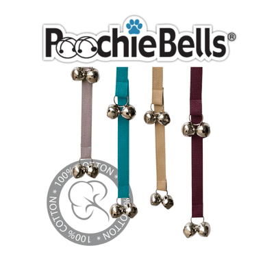 Poochie Bells Classic Training Bells 28