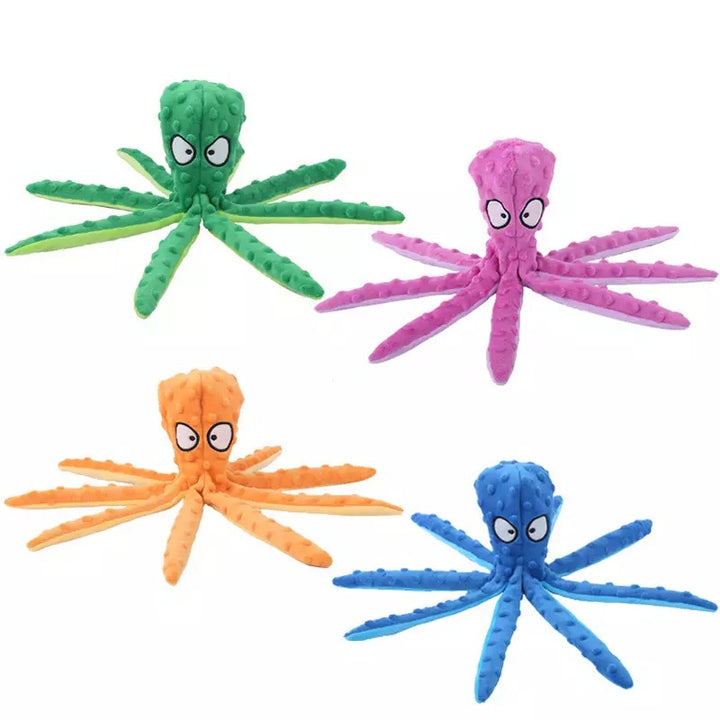Octopus Multi Sensory Dog Toy