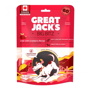 Great Jacks Liver with Cranberry Dog Treats