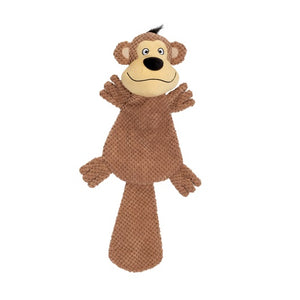 Dogit Stuffies XL Flat Friend Monkey
