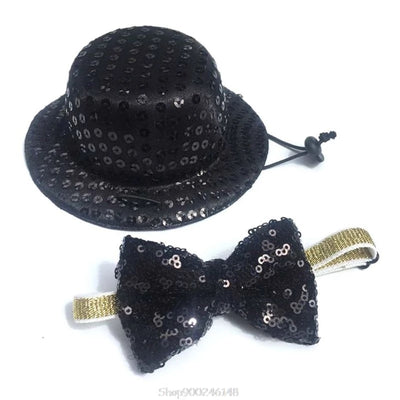 Steppin' Out Sequin Top Hat & Bow