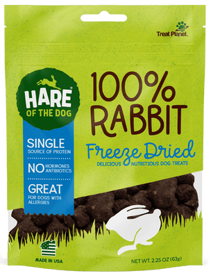 Hare of the Dog Freeze Dried Rabbit 2.5oz