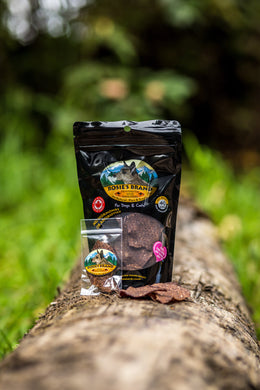 Rosies Brand Wild Kangaroo Chips Treats for Dogs