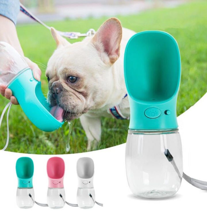 Portable Dog Water Bottle - 350ml or 550ml