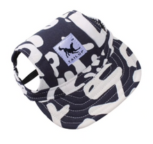 Baseball Cap Canvas Blue/White