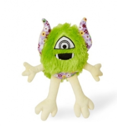 Budz Dog Toy Plush Monster Loomy Floral pat 11