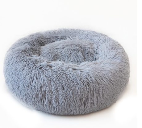 Donut Soft Fuzzy Comfort Calming Dog Beds