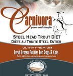 Carnivora Steelhead Trout 4lb/8oz Patties