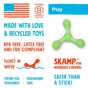 West Paw Skamp for Tough Chewers with Zogoflex Echo - Large