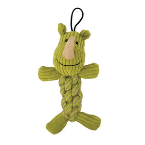 Zeus Mojo Naturals Rope Twisterz - Lion or Rhino - 17 cm (6.75 in)