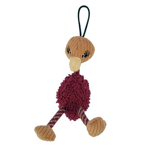 Zeus Mojo Naturals Big Belly Pals - Ostrich - Assorted - 19 cm (7.5 in)