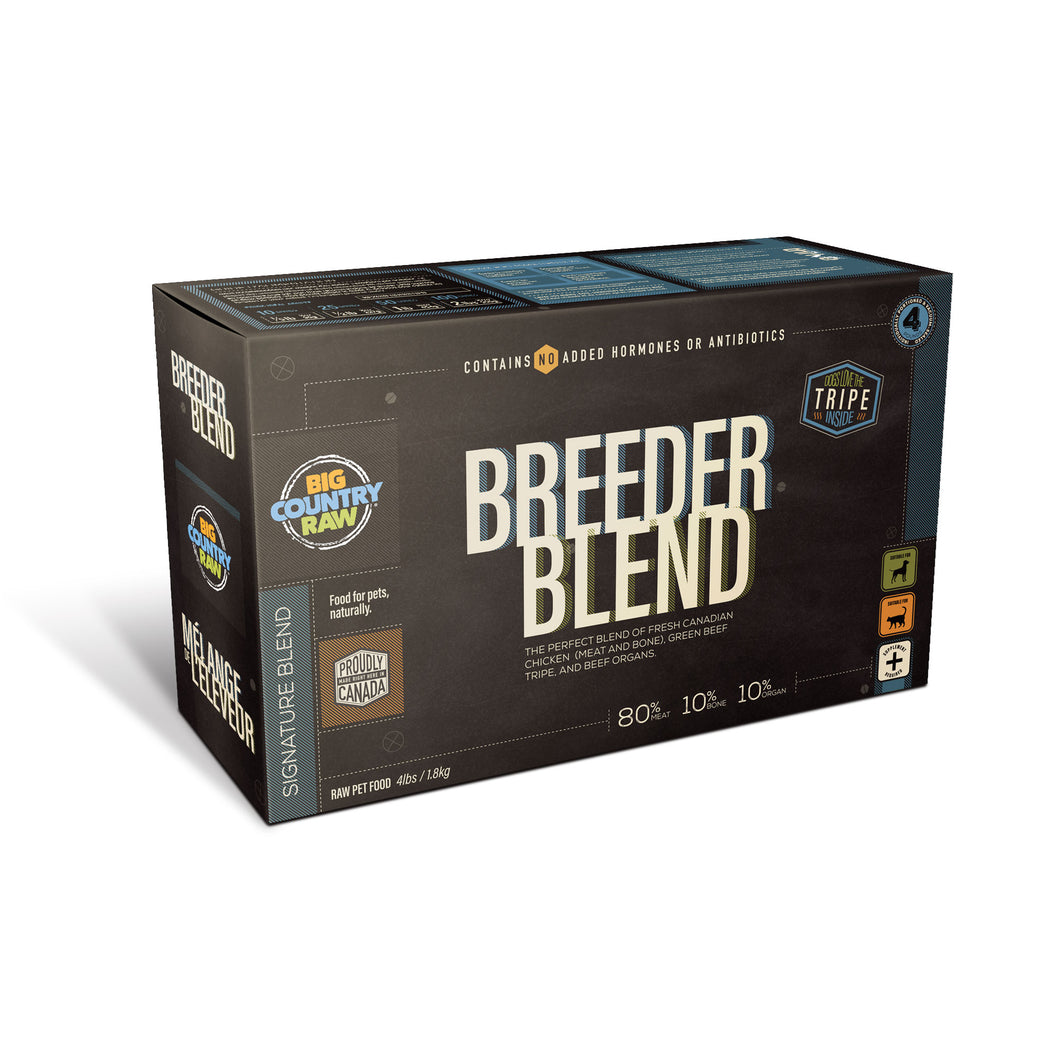 Breeder Blend Chicken Carton 4lb