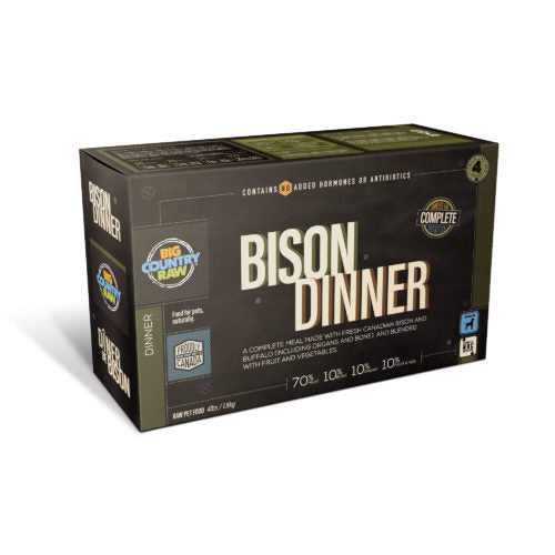 Bison Dinner Carton 4Lb