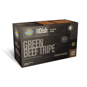 Big Country Raw Pure Green Beef Tripe Carton 4Lb