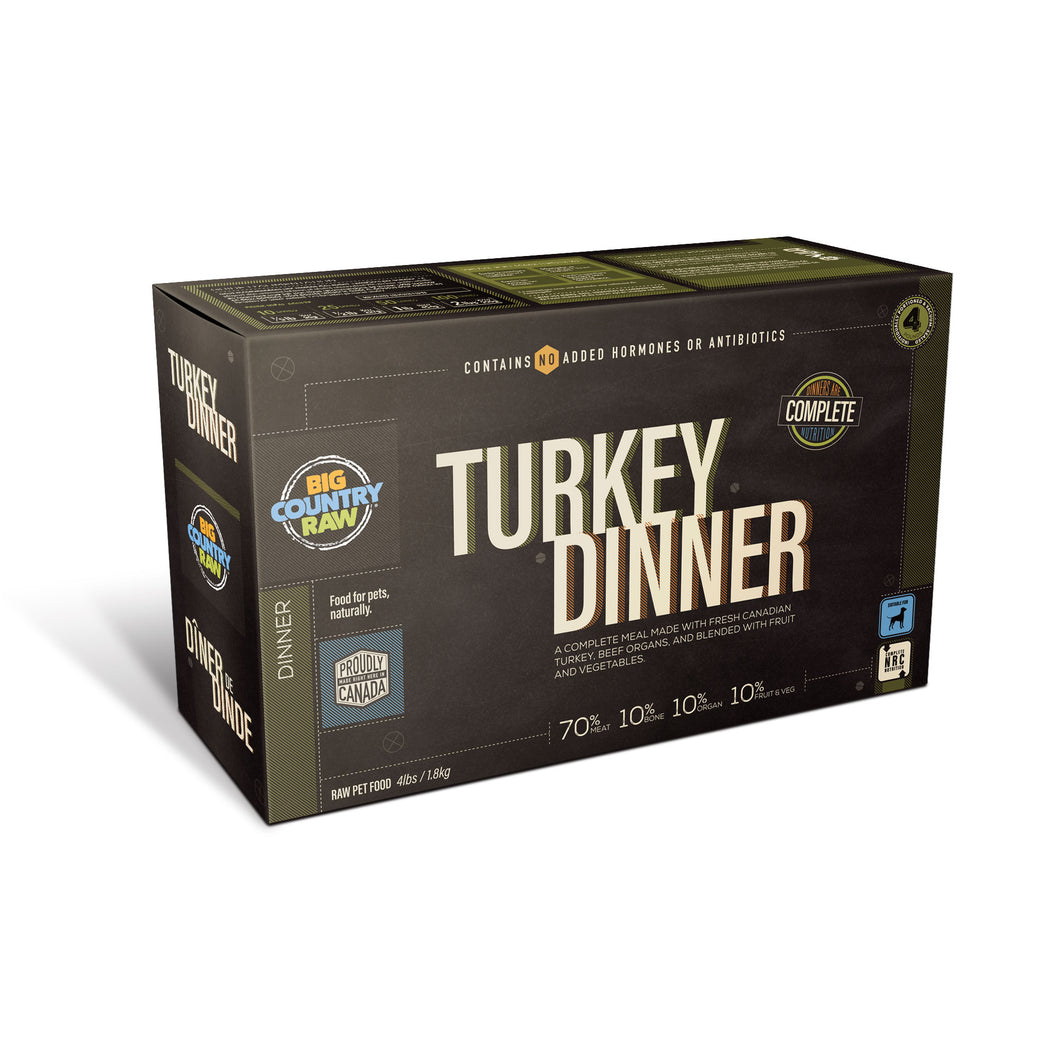 Turkey Dinner Carton 4lb