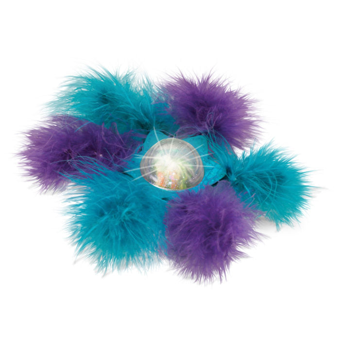 Bat-A-Bout Flicker Furry Cat Toy