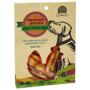 Silver Spur Chicken Wrapped Sweet Potato Dod Treat 85 gram