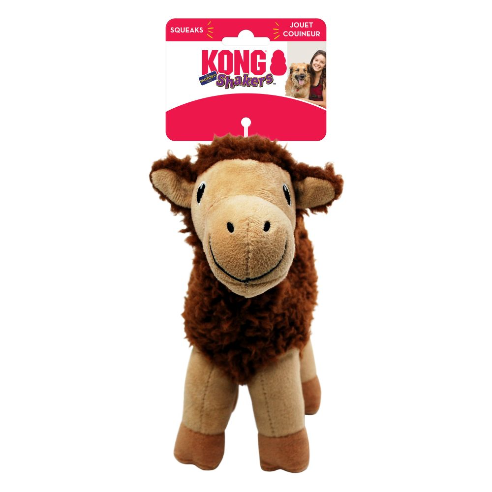 Kong Passport Shakers Camel Medium