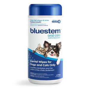 Blueste Dental Wipes for Dogs and Cats