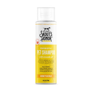 Skouts Probiotic Shampoo - Honeysuckle 16oz