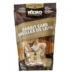 Hero DogTreats Rabbit Ears 65g