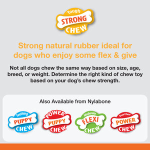 Nylabone Flavor Frenzy Strong Chew Toy Dog Toy Meatloaf & Gravy Flavor 1ea/Medium/Wolf - Up To 35 lb