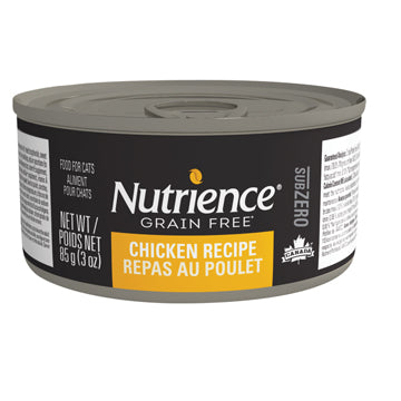 Nutrience Subzero Wet Food for Cats - Case of 24 x 85g (3oz)