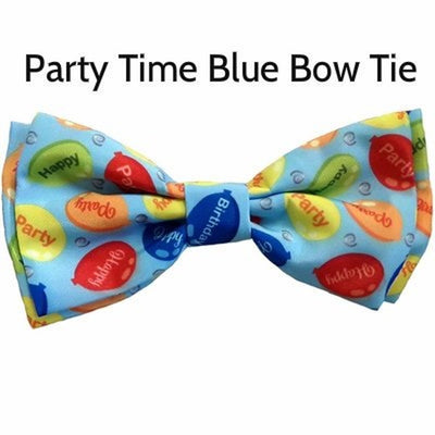 Party Time Bow Tie in Blue