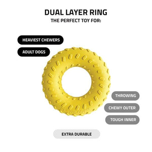 Playology Dual Layer Ring Infused with Flavour Peanut Butter