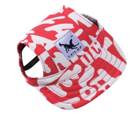 Baseball Cap Canvas Red/White