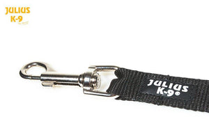 Car Seatbelt Tether Leash for Dogs Over 25 KG - Black/Grey