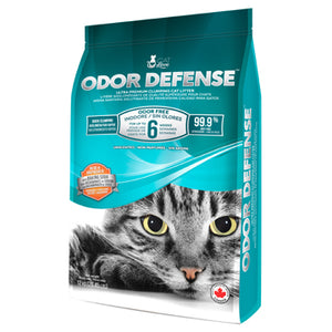 Cat Love Odor Defense Unscented Premium Clumping Cat Litter - 12 kg (26.5 lb)