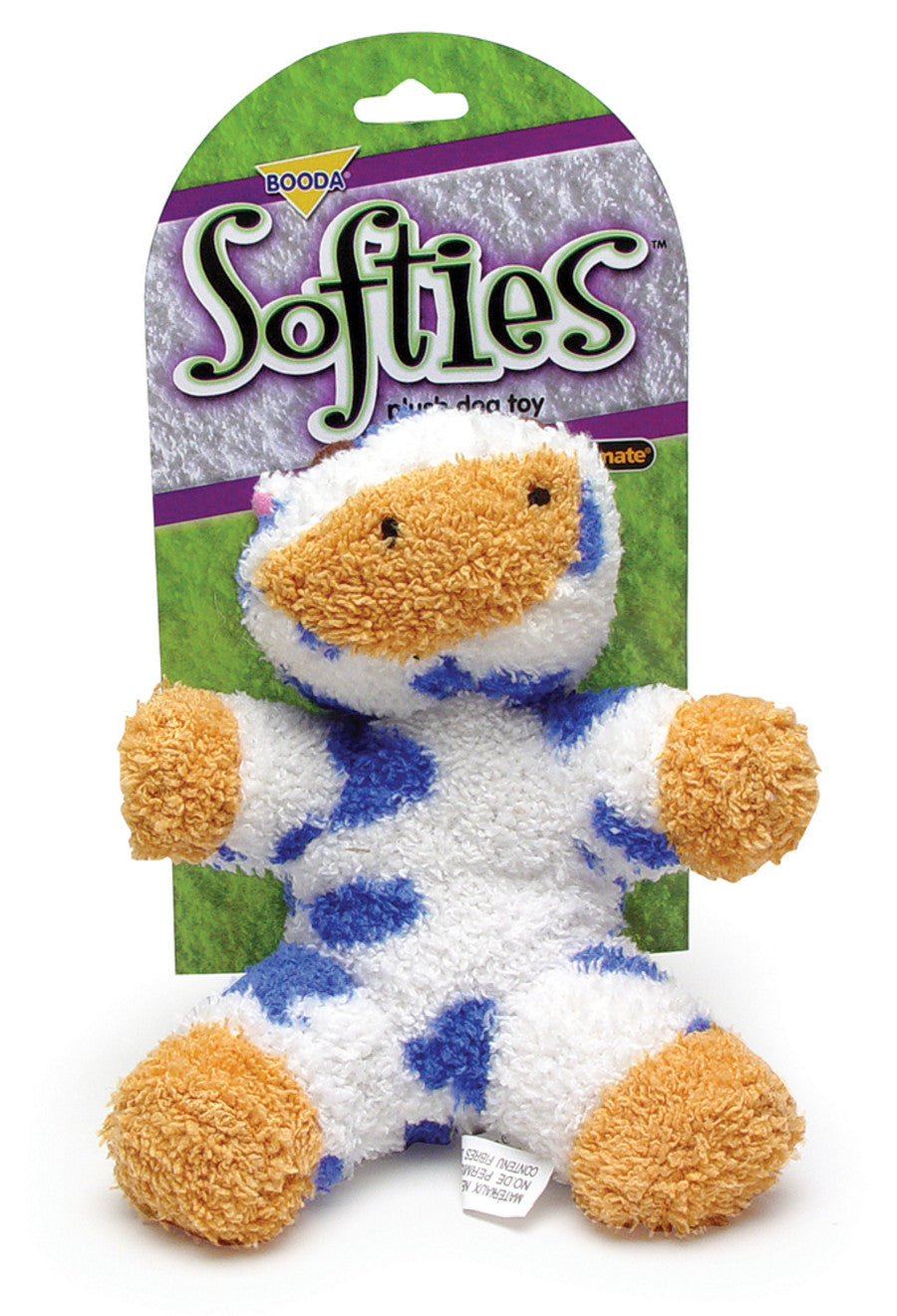 Petmate Booda Softies Cow Medium