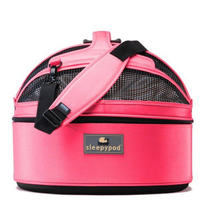 Pink Sleepy Pod for Dogs & Cats up to 15lbs