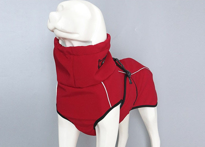 Smooth Sports Style Fall/Winter Jacket in Red or Black