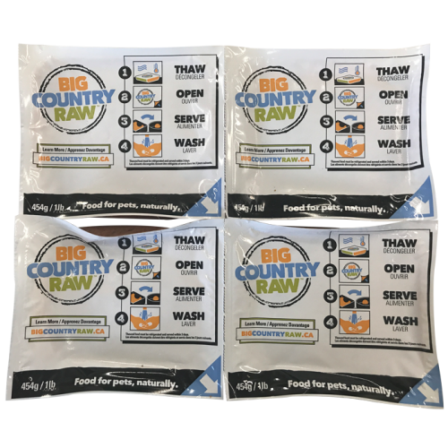 Big Country Raw Grab & Go Raw Mini Deal 12 lbs