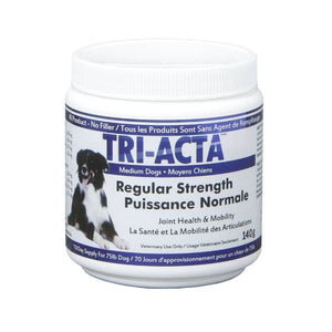 Tri-Acta Regular Strength Medium Dog Joint Formula 140g