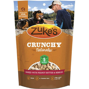 Zukes Crunchy Naturals Peanut Butter & Berries 12oz