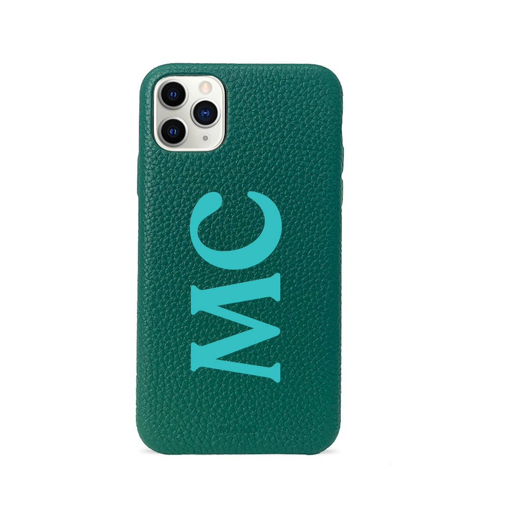 Pebble - Funda Verde Pino iPhone 11 Pro Max