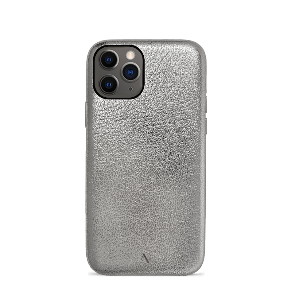 Pebble - Silver Metallic IPhone 11 Pro Case