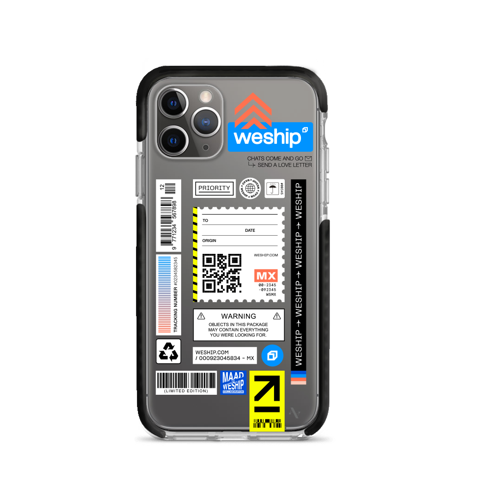 WeShip x MAAD - IPhone 11 Pro Clear Case