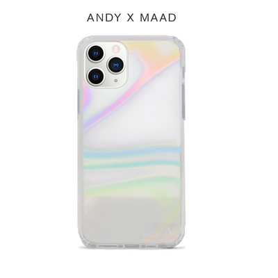 Monthly Font - IPhone 11 Pro Rainbow Case