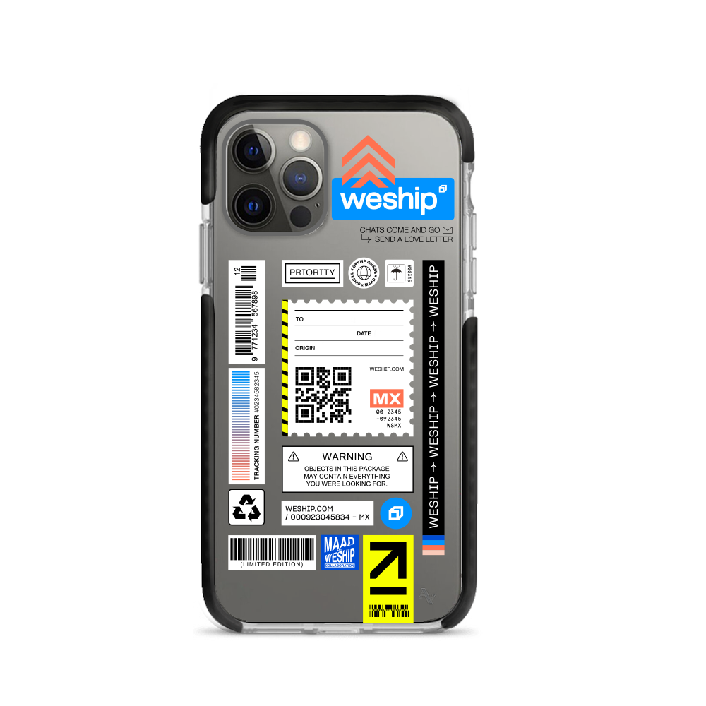 WeShip x MAAD - IPhone 11 Pro Max Clear Case