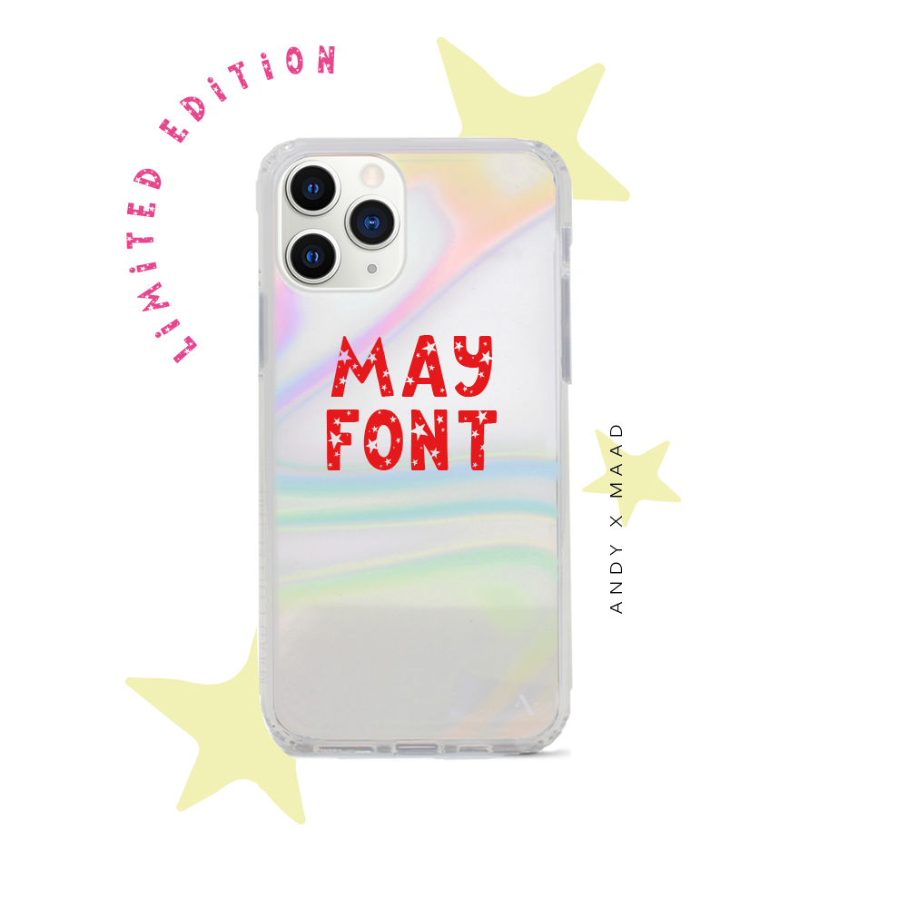 Monthly Font - IPhone 11 Pro Max Starry Case