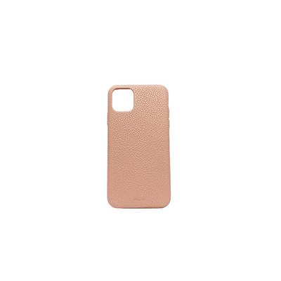 Pebble - Nude IPhone 11 Pro Max Case - MAAD Collective - Saffiano IPhone Personalized Case