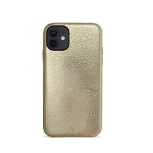 Pebble - Gold Metallic IPhone 12 Mini Case