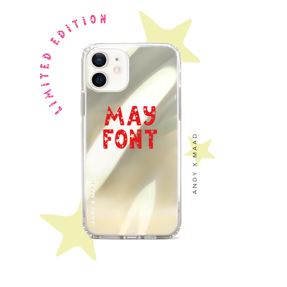 Monthly Font - IPhone 12 Mini Starry Case