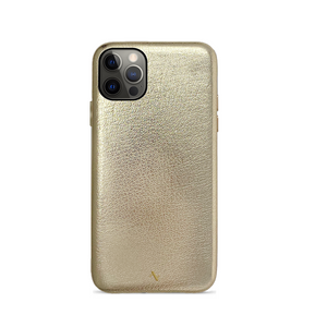 (Pre Order) Pebble - Gold Metallic IPhone 12 Pro Case