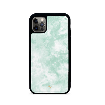 Tie Dye Green Fever - IPhone 12 Pro Max Case