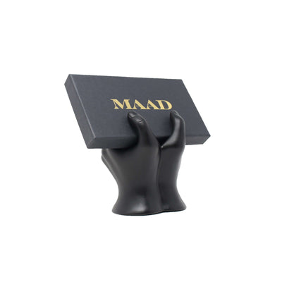MAAD LVR Black IPhone XS MAX Case - MAAD Collective - Saffiano IPhone Personalized Case